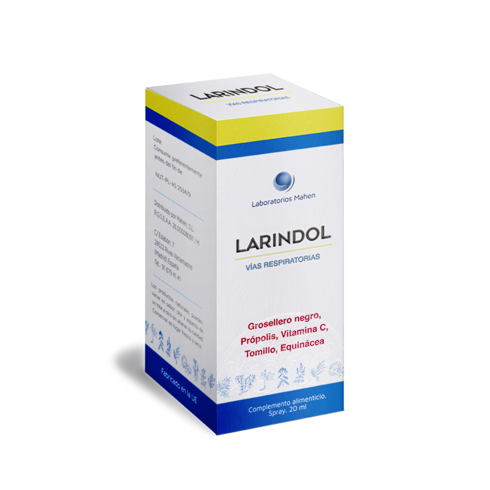larindol 20 ml con vitamina C