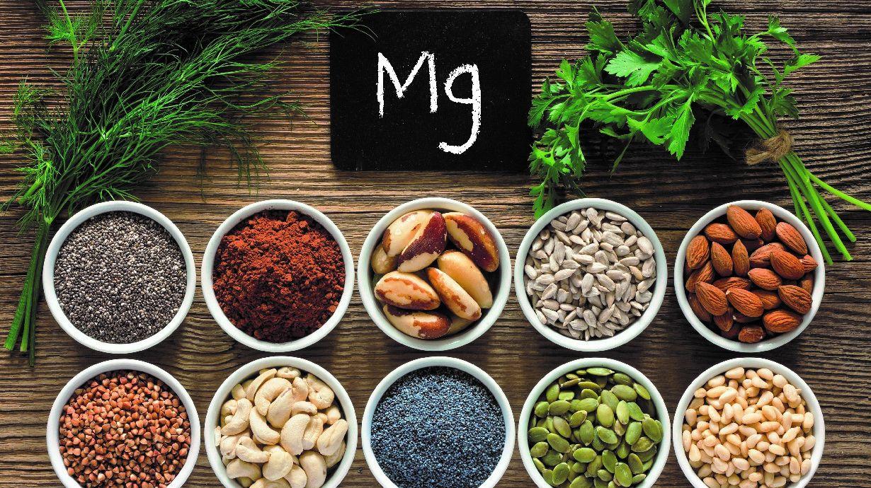 El magnesio es esencial para funciones vitales de nuestro cuerpo.
