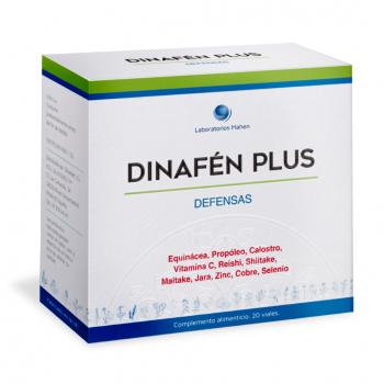Dinafén Plus Fórmula reforzada. 20 viales