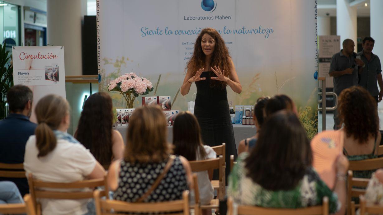 Encuentro con Patricia Pérez en un evento Madrid
