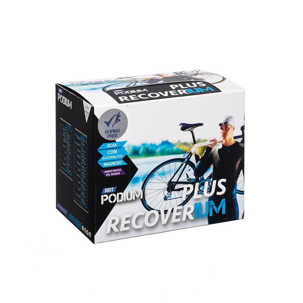 PLUS RECOVERIUM con l-glutamina y zinc