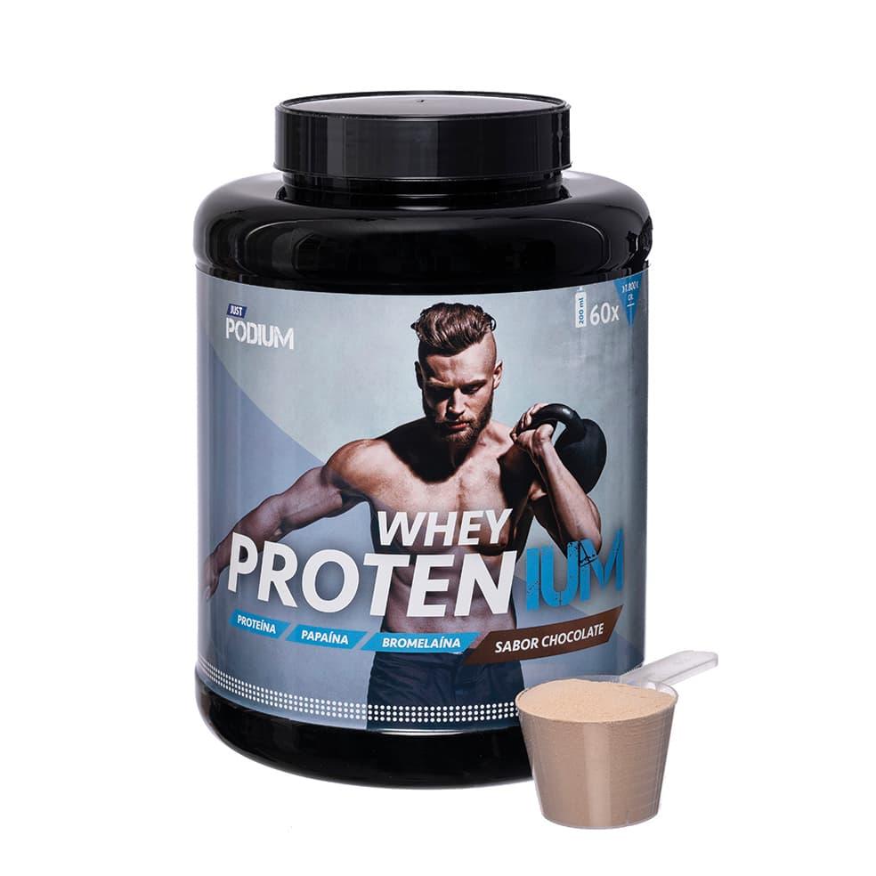 Proteinas con sabor a chocolate Whey Protenium