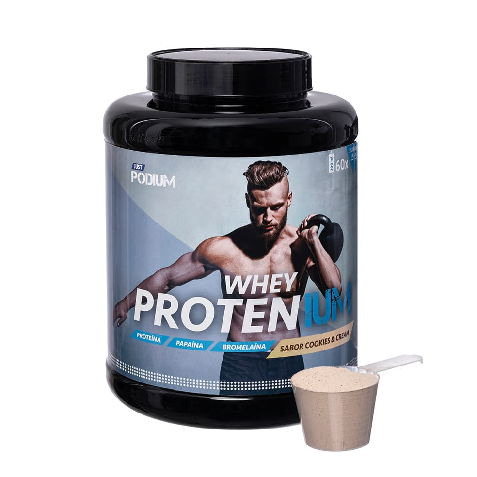Proteínas whey sabor a cookies and cream