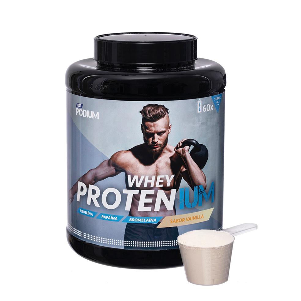 Whey protenium, proteínas con sabor a vainilla
